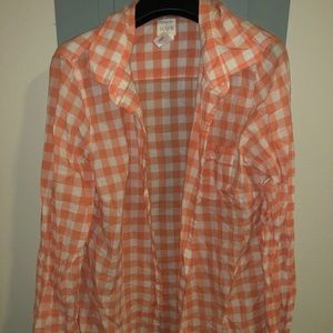 J crew the perfect shirt size small